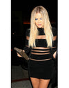 Khloe Velvet Black Dress - Awesome World - Online Store  - 1