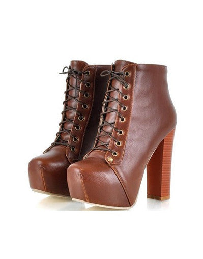 Ankle Blogger Boots - 4 Colors - Awesome World - Online Store  - 1