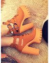 Open Toe Platform Sandals - 2 colors - Awesome World - Online Store  - 1