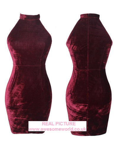 Velvet Kylie Sexy Dress - Awesome World - Online Store  - 2