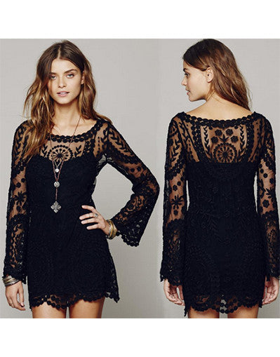Boho Lace Dress - Awesome World - Online Store  - 1
