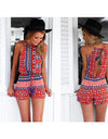 Multi Red Playsuit - Awesome World - Online Store