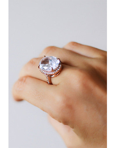 Huge Diamond Ring - Awesome World - Online Store  - 1