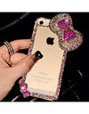 3D Bow Transparent Cover Case - iPhone - Awesome World - Online Store  - 1