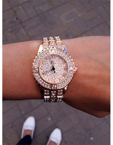 Full Diamond Watch - 4 colors - Awesome World - Online Store  - 2