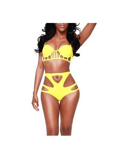 High Waist Vintage Bikini - 2 Colors - Awesome World - Online Store  - 2