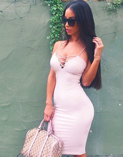 Racy Bodycon Dress - Awesome World - Online Store  - 1