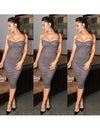 Trendy Suede Celeb Dress - 4 colors - Awesome World - Online Store  - 1