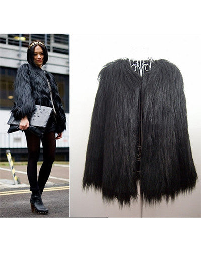 Faux Fur Jacket - 4 Colours - Awesome World - Online Store  - 4
