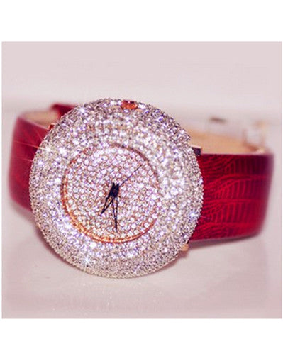 Round Diamond Watch - 2 colors