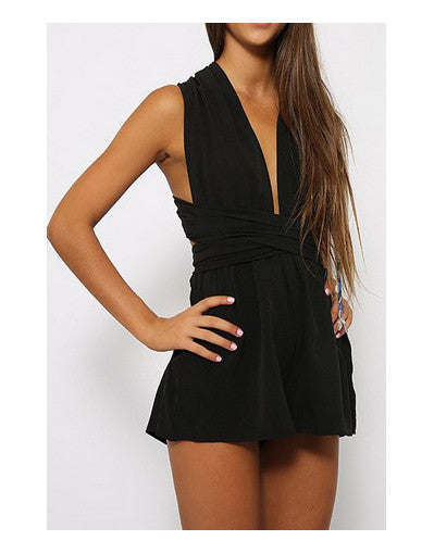 Backless Beach Jumpsuit - 3 colors - Awesome World - Online Store  - 3