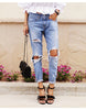 Hole Ripped Jeans - Awesome World - Online Store  - 1