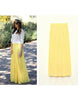 Long Chiffon Skirt - 7 colors - Awesome World - Online Store  - 2