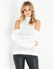 High Neck Without Shoulders Sweater -  6 Colors - Awesome World - Online Store  - 2