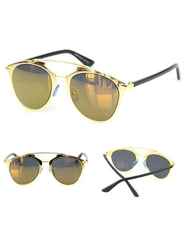 Gold Frame Fashion Sunglasses - 3 Colors - Awesome World - Online Store  - 7