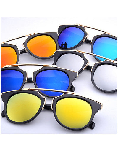 Mirrored Sunglasses - 9 colors - Awesome World - Online Store  - 3