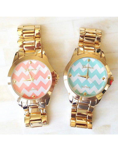 Gold/Silver Fashion Watches - 2 Colors - Awesome World - Online Store  - 1