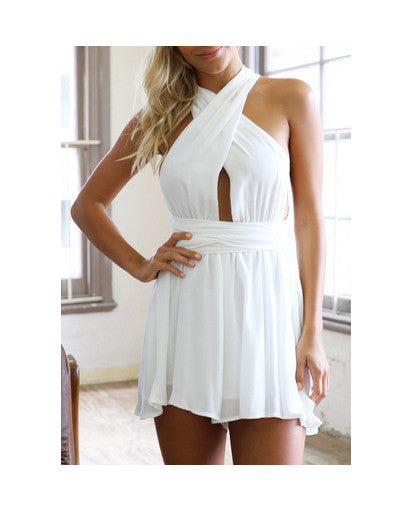 Backless Beach Jumpsuit - 3 colors - Awesome World - Online Store  - 2