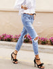 Hole Ripped Jeans - Awesome World - Online Store  - 2