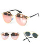 Gold Frame Fashion Sunglasses - 3 Colors - Awesome World - Online Store  - 6