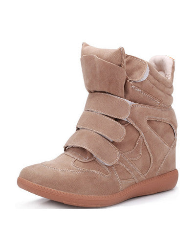 Wedge Sneakers - beige models - Awesome World - Online Store  - 2