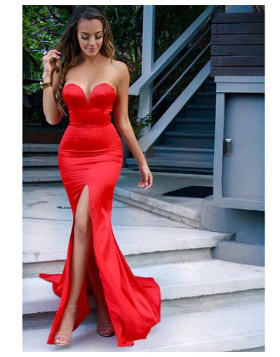 Crushin' Red Dress - Awesome World - Online Store  - 1