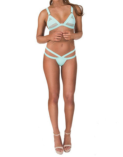 Sensual Hollow Out Bikini - Awesome World - Online Store  - 2