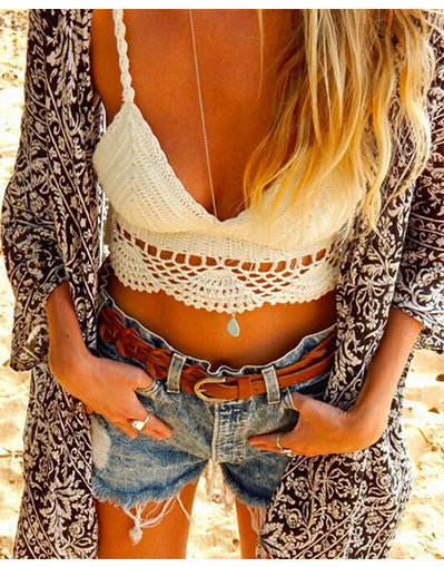 Crochet Crop Top - 2 colors - Awesome World - Online Store  - 4