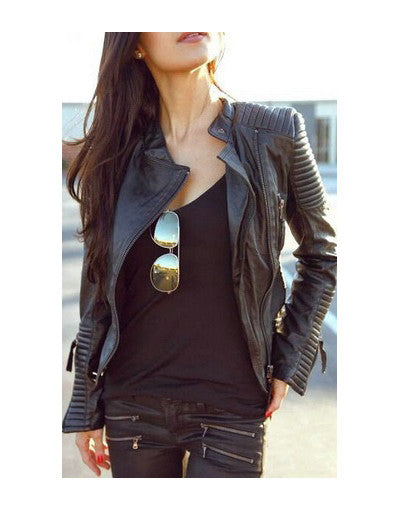 Motorcycle Leather Jacket - Awesome World - Online Store  - 1