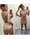 Kylie Glitter Backless Dress - Awesome World - Online Store  - 1