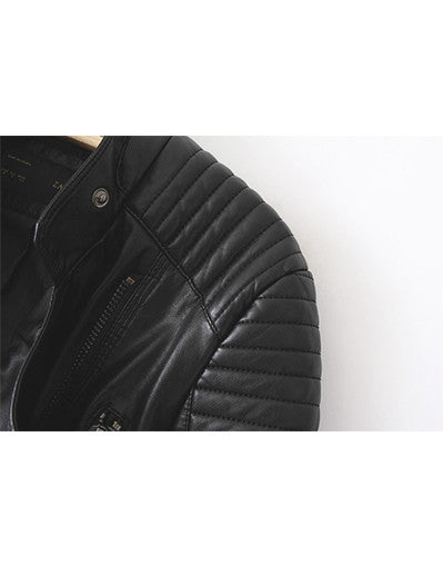 Motorcycle Leather Jacket - Awesome World - Online Store  - 2