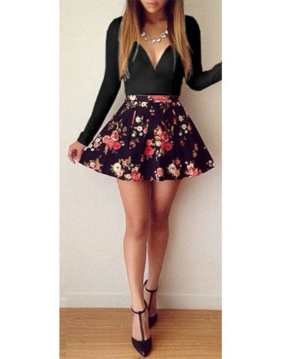 Roses Dress - 2 colors - Awesome World - Online Store  - 2