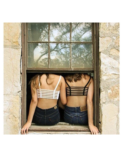 Backless Crop Top - 2 colors - Awesome World - Online Store  - 1
