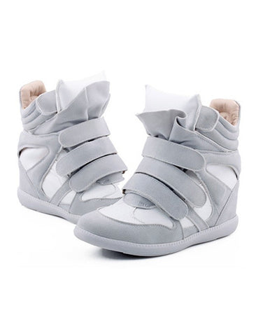 Wedge Sneakers - white models