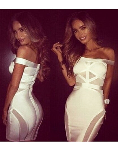 Transparent Bandage Dress - 2 colors - Awesome World - Online Store  - 5