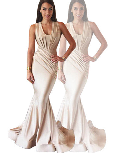 The one - Slinky Nude Gown - Awesome World - Online Store  - 5