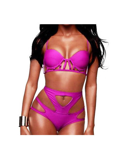 High Waist Vintage Bikini - 2 Colors - Awesome World - Online Store  - 3