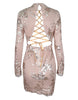 Glam Edition - All Yes on You Back Sequins Dress - Awesome World - Online Store  - 2