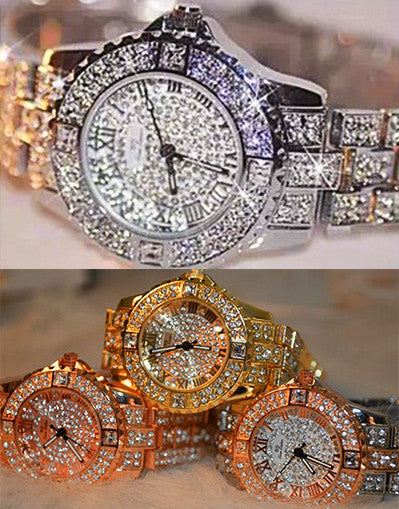 Full Diamond Watch - 4 colors - Awesome World - Online Store  - 1