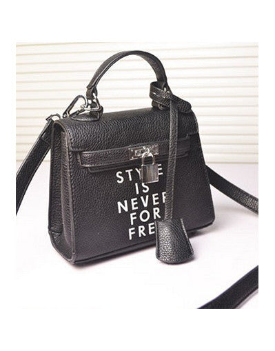 Style Is Never For Free Bag - 2 colors - Awesome World - Online Store  - 2