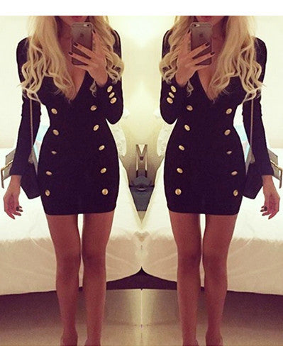 Black Glamour Blazer Dress - Awesome World - Online Store  - 3