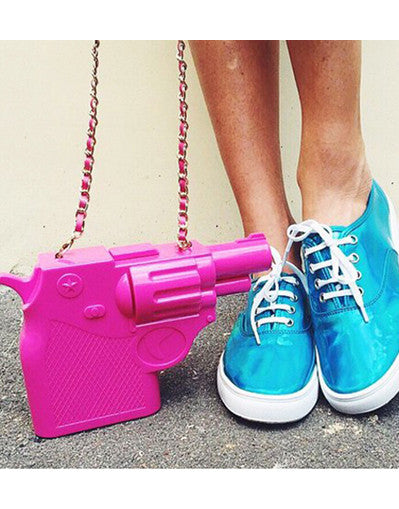3D Gun Clutch Bag - 3 colors - Awesome World - Online Store  - 1