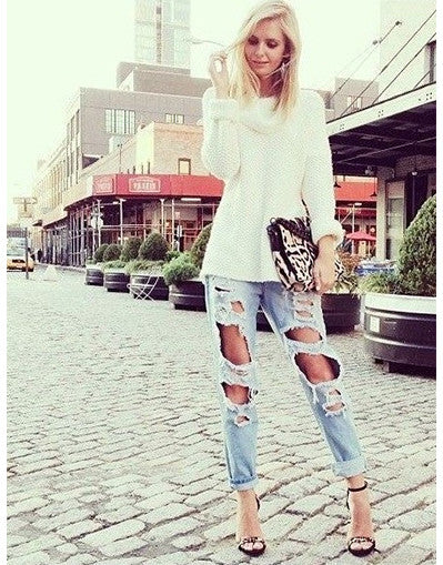Vintage Ripped Jeans - Awesome World - Online Store  - 2