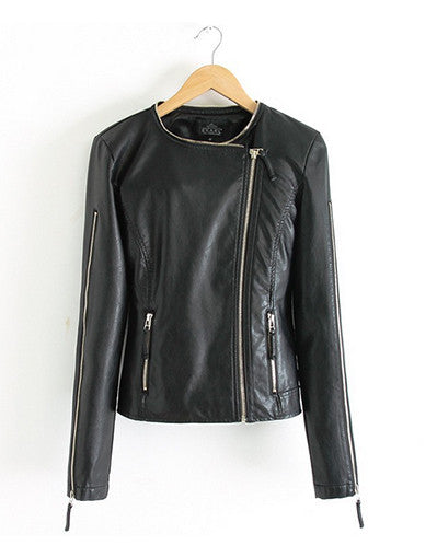 Leather Stylish Jacket - Awesome World - Online Store  - 1