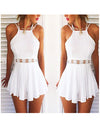 White Sensual Lace Playsuit - Awesome World - Online Store  - 1