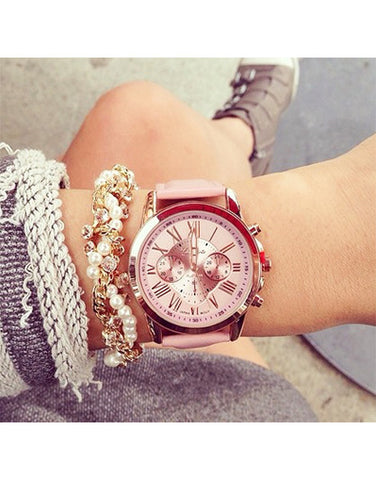 Blogger Fashion Watch - 4 Colors
