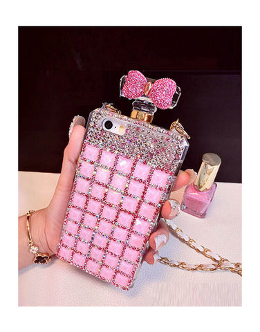 Rhinestone Bow Case iPhone