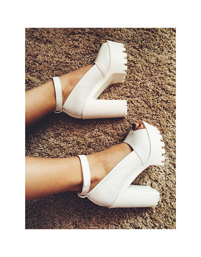 Awesome Platform Sandals - 2 colors - Awesome World - Online Store  - 1