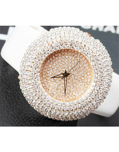 Round Diamond Watch - 2 colors - Awesome World - Online Store  - 2