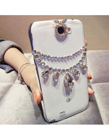 3D Glam Diamonds Cover Case - iPhone & Samsung